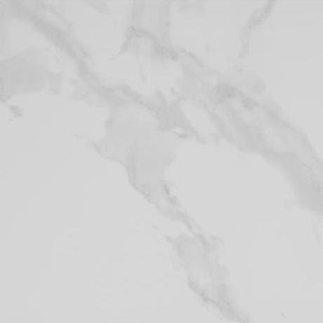 Rhodes White Gloss Marble Effect Floor Tile 47 X 47cm Bathroom