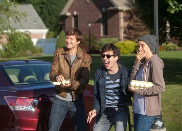 Tfios Gus Hazel And Isaac Throwing Eggs One Of My Favorite