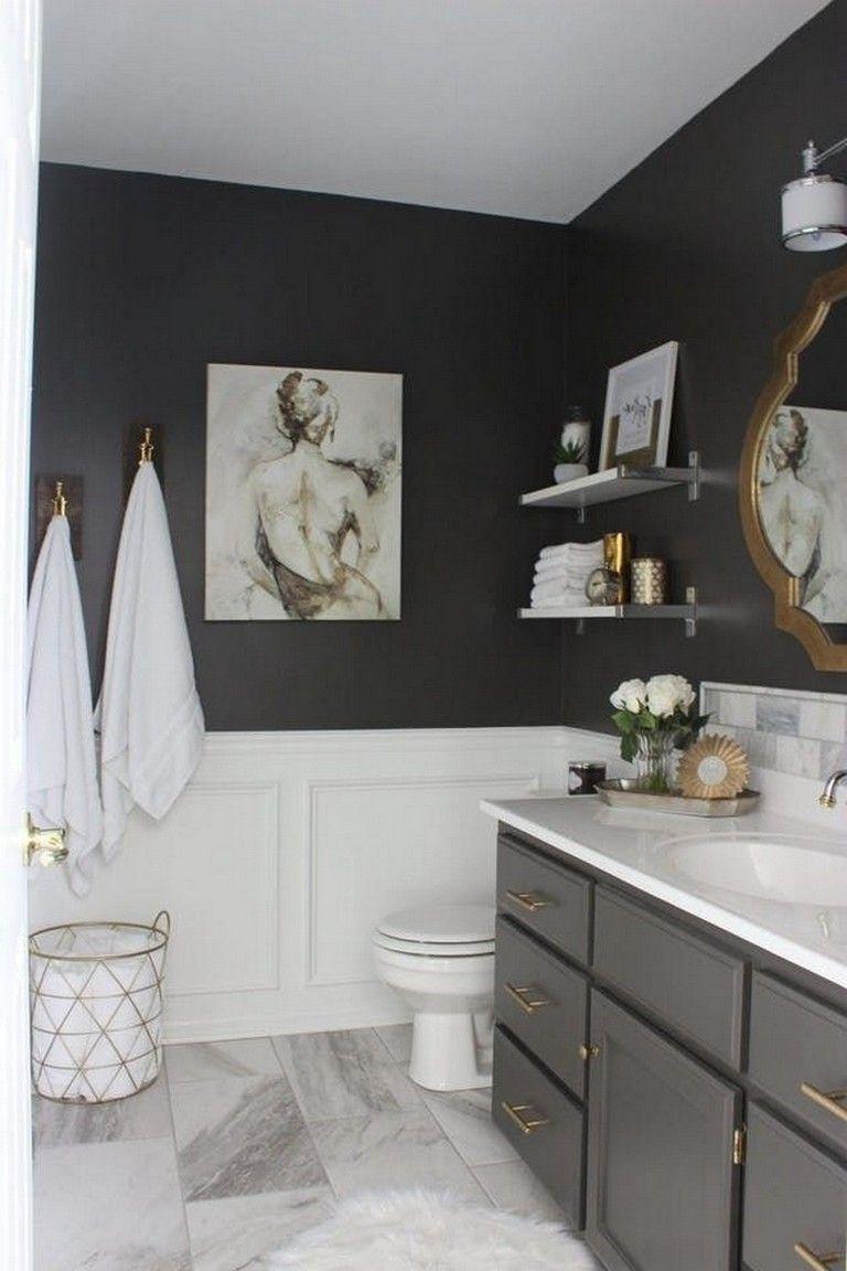 20 Minimalist Master Bathroom Decor On A Budget Mit Bildern Toilette Dekoration Toilette Renovieren Kleines Bad Umbau
