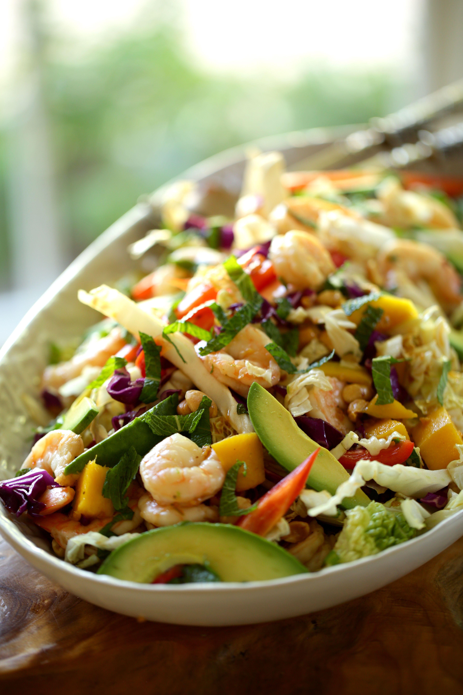 Shrimp Salad with Avocado and Mango images