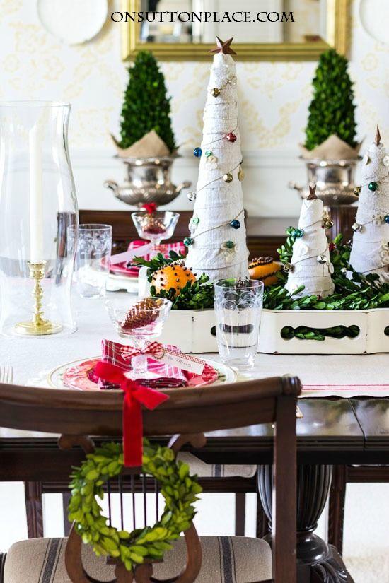 Dining Room Christmas Decor Christmas decor, Decoration and Holidays