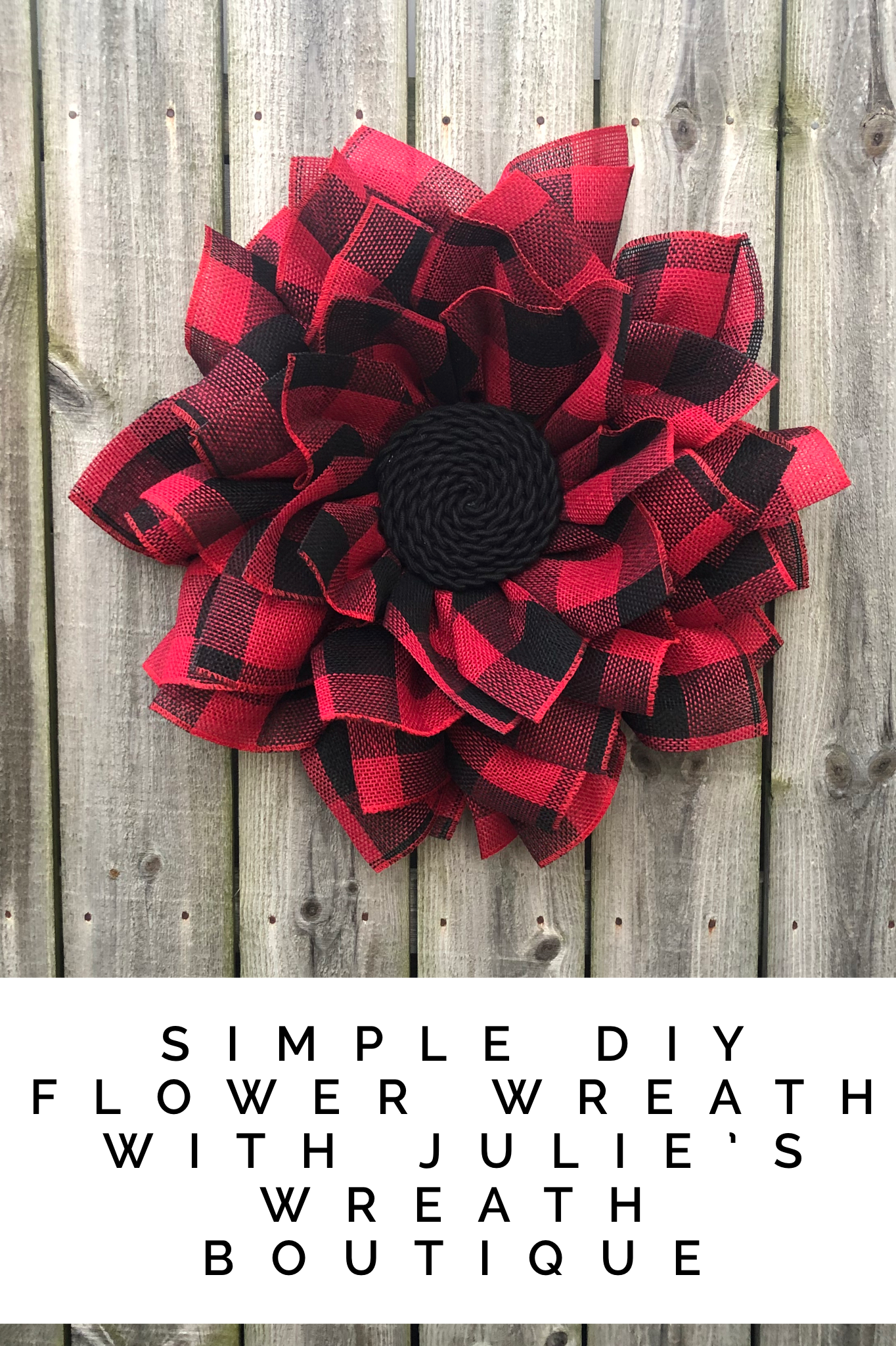 Photo of Flower wreath tutorial