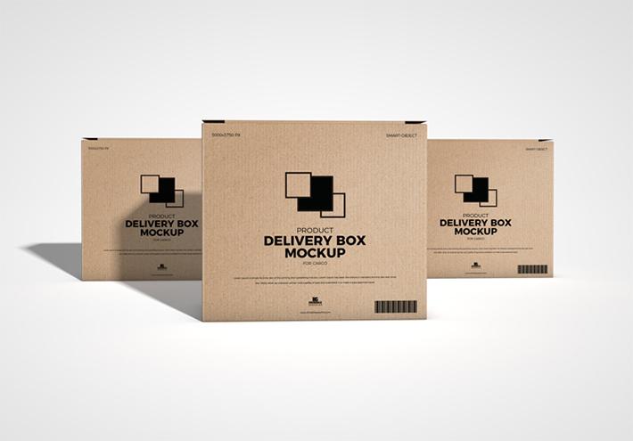 Download Free Download Product Packing Box Mockup Psd Freebies Box Mockup Mockup Logo Tutorial