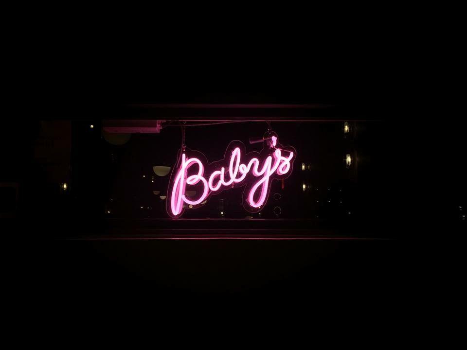 Baby S Neon Sign Neon Wallpaper Neon Signs