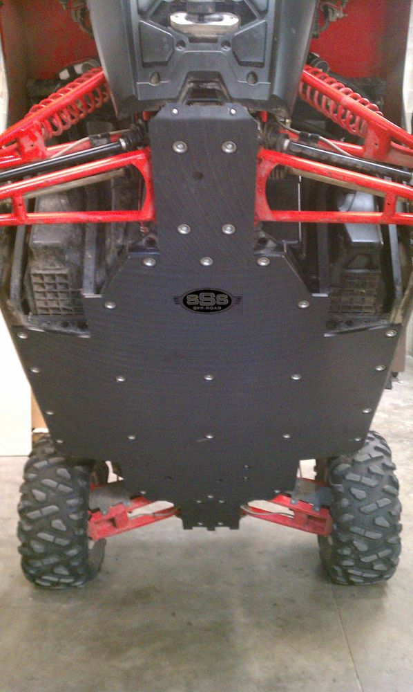 Details about Polaris RZR 800 S skid plate UHMW SSS Off