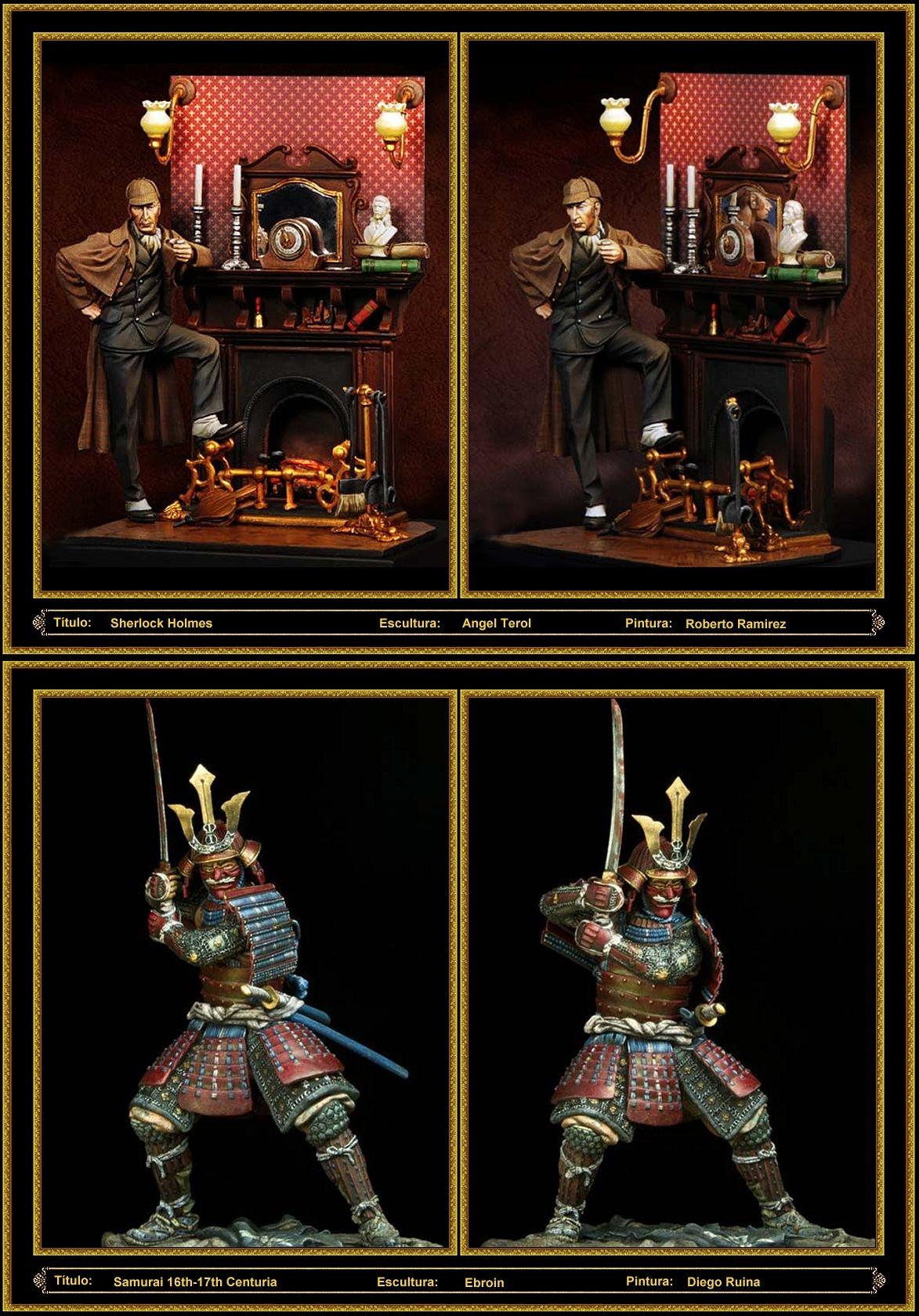 Modelismo - Figuras - Miniaturas