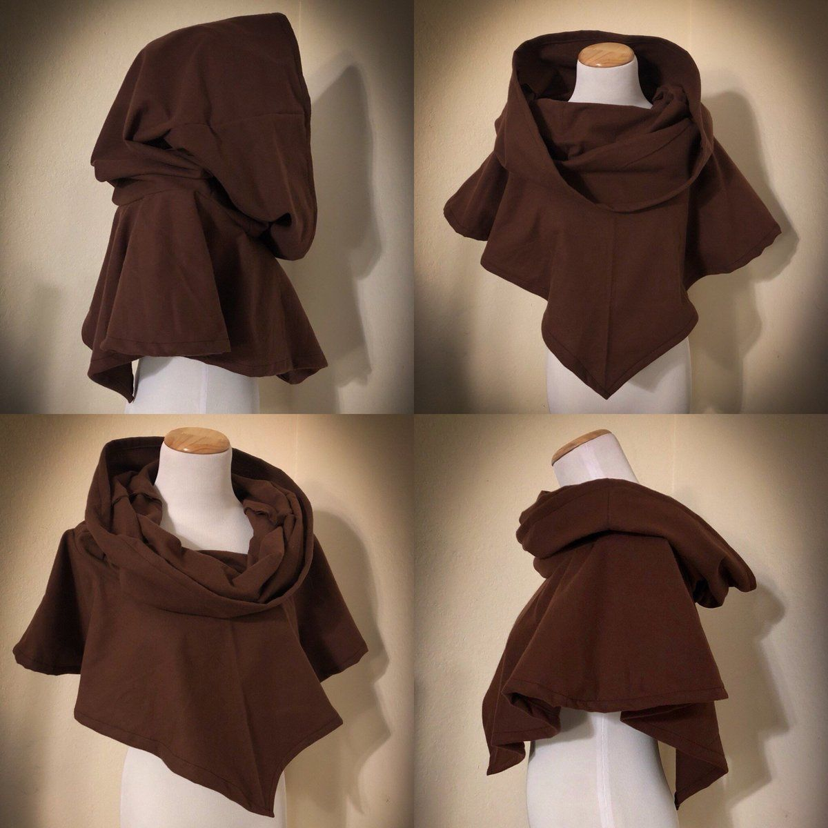 5eb31944903 Hooded cowl medieval hood ranger cowl cowl hood renaissance hooded man –  Tracy Michelle Couture