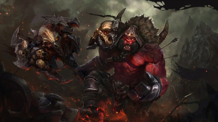 Axe Dota 2 Game Art Wallpaper Projects To Try Dota 2