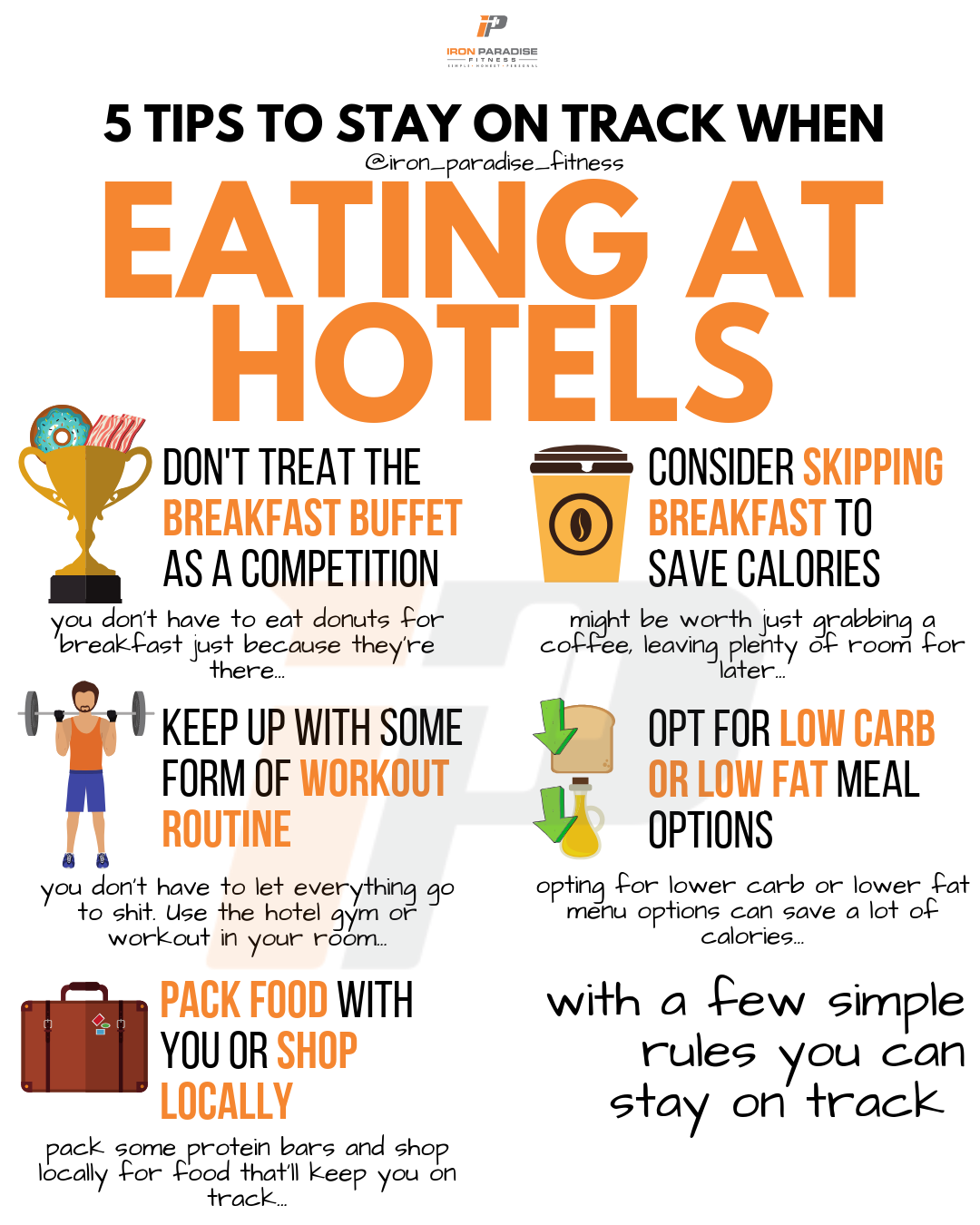 Find It Hard To Lose Weight When You're Staying At Hotels