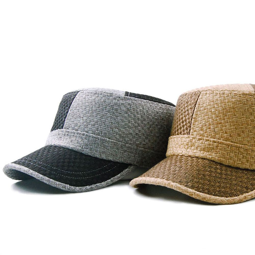 Details about straw mat pattern 2 colors patched