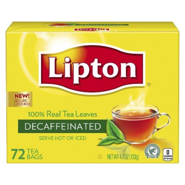 I M Learning All About Lipton Decaffeinated 100 Natural Tea At Influenster Organic Black Tea Decaffeinated Lipton Tea Bags