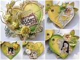 Image detail for -The following romantic floral album is a take by Design Team member ...