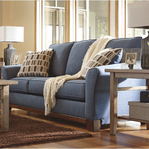 Janley Sofa Denim sofa, Front rooms and Living rooms