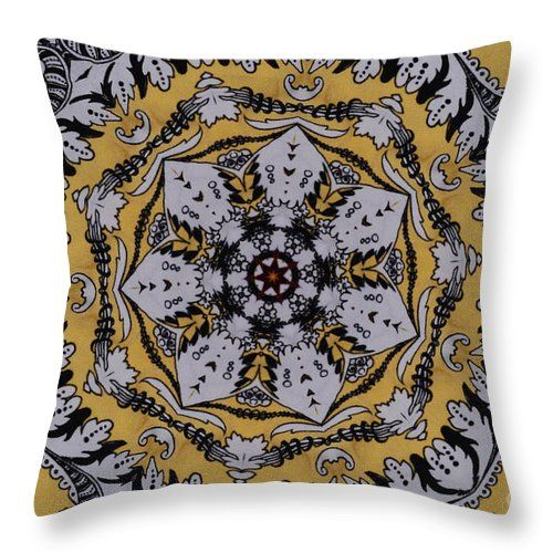 00653 Throw Pillow featuring the digital art 00653 by Aileen Griffin