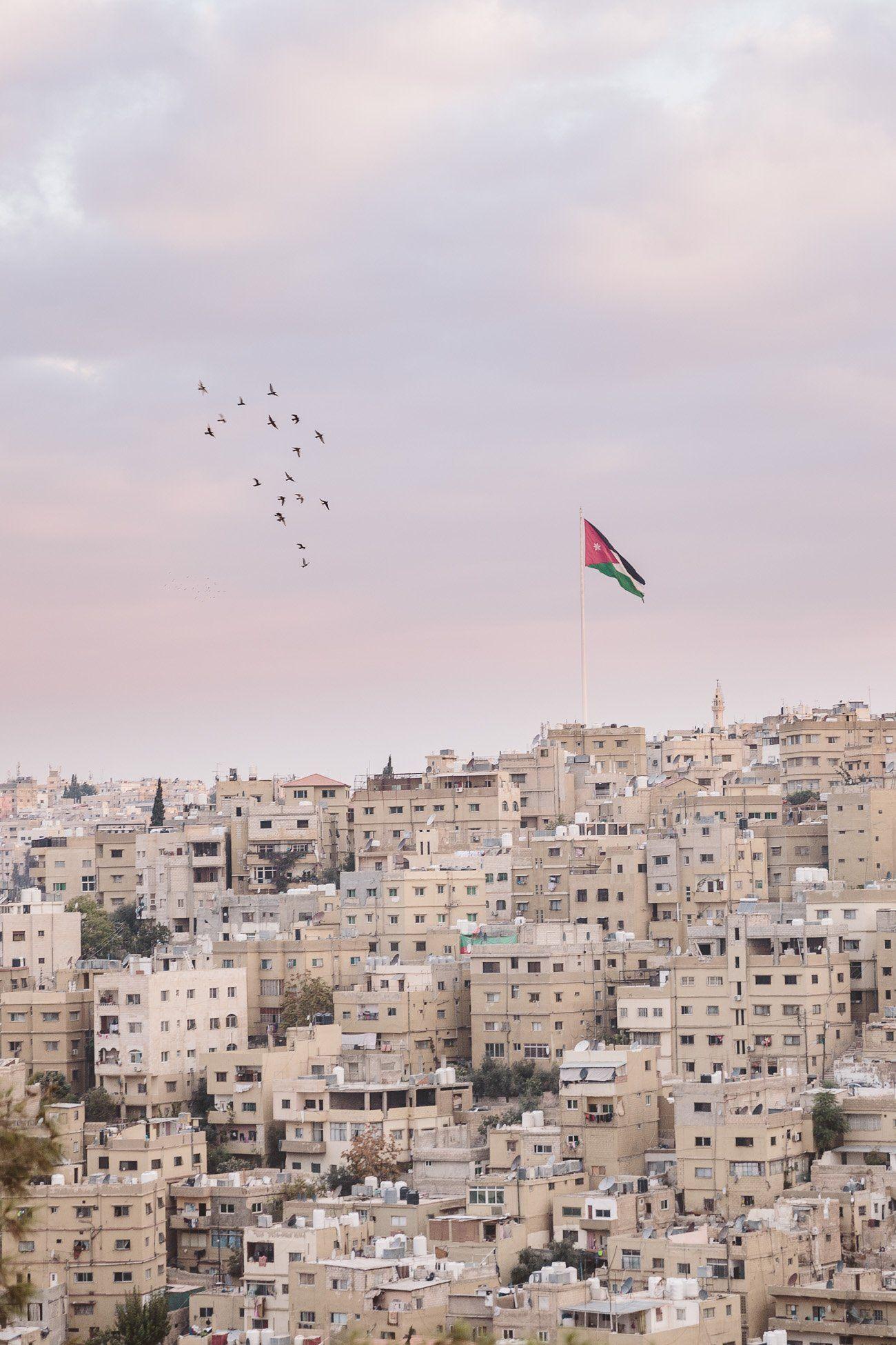 Skyline of Amman Jordan #ammanjordan