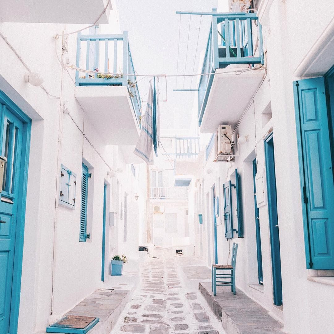Getting lost in the streets of Mykonos