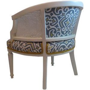 One Kings Lane   Seating Arrangements   French Barrel Cane Chair