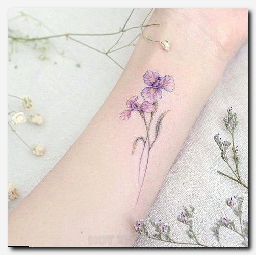 101 Girly Tattoos You Ll Wish You Had This Summer Hot Tattoo Iris Tattoo Iris Flower Tattoo White Flower Tattoos