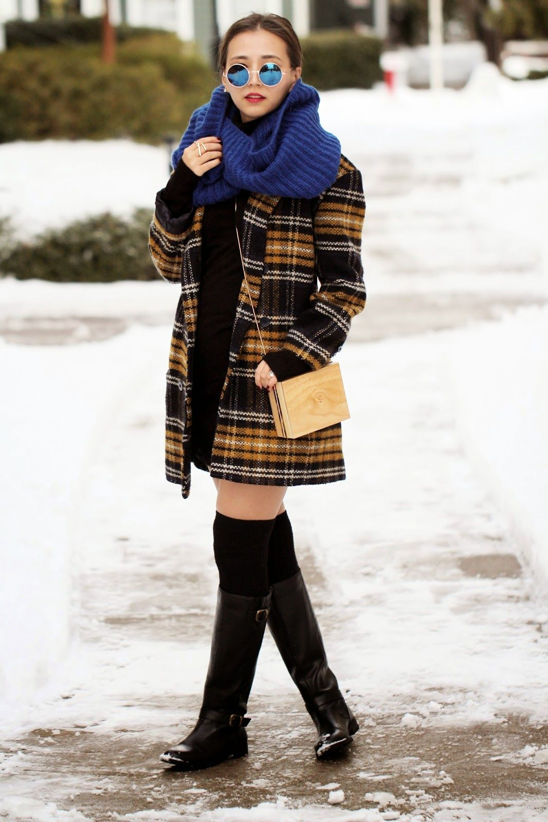 Fashion style How to infinity wear scarf pinterest for girls
