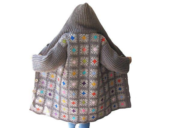 NEW Afghan Crochet Cardigan | Crochet Caridgan | Pinterest ...