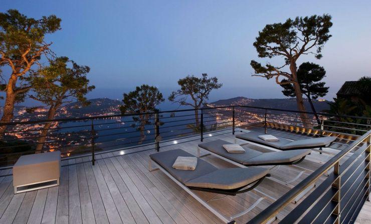 Magnifique villa de luxe sur la côte d\'Azur | Villas | Pinterest ...