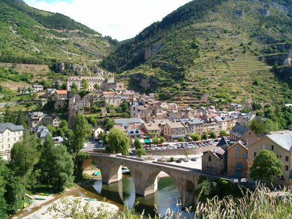 Gorges Du Tarn Cevennes Lozere Languedoc Roussillon France Village Canyon France France Travel