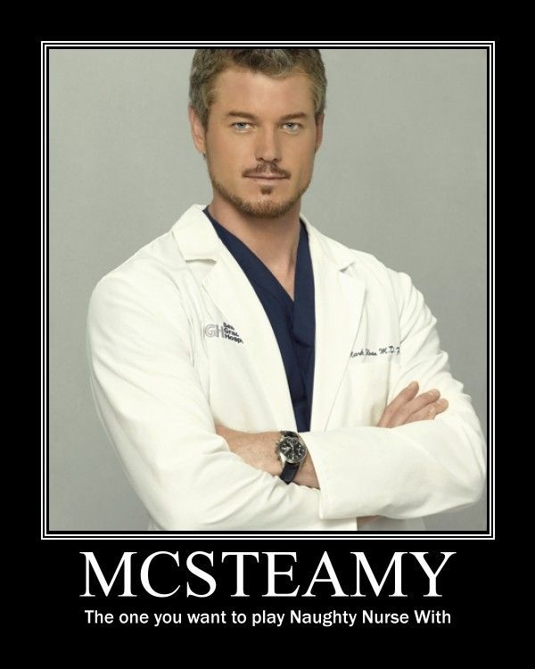 Dr Mcsteamy From Greys Anatomy Mark Sloan Naughty Nurses Tv