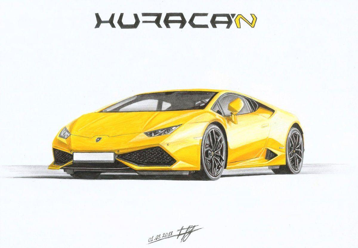 Lamborghini Huracan Habillee En Jaune La Couleur A Laquelle On