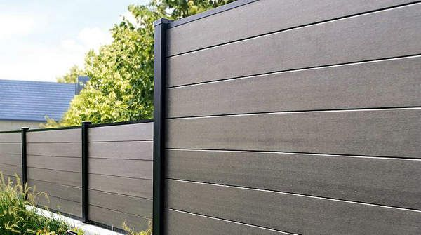 Fence panel backyard ideas pinterest fence panel for Garden decking fencing
