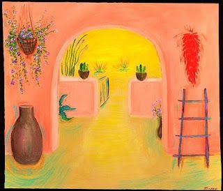 Mexican Folk Art #Mexican #art #painting #MexicanArtwork #Mexico