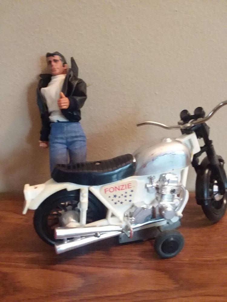 Vintage 1970s Happy Days The Fonz Cruisin Motorcycle Sticker