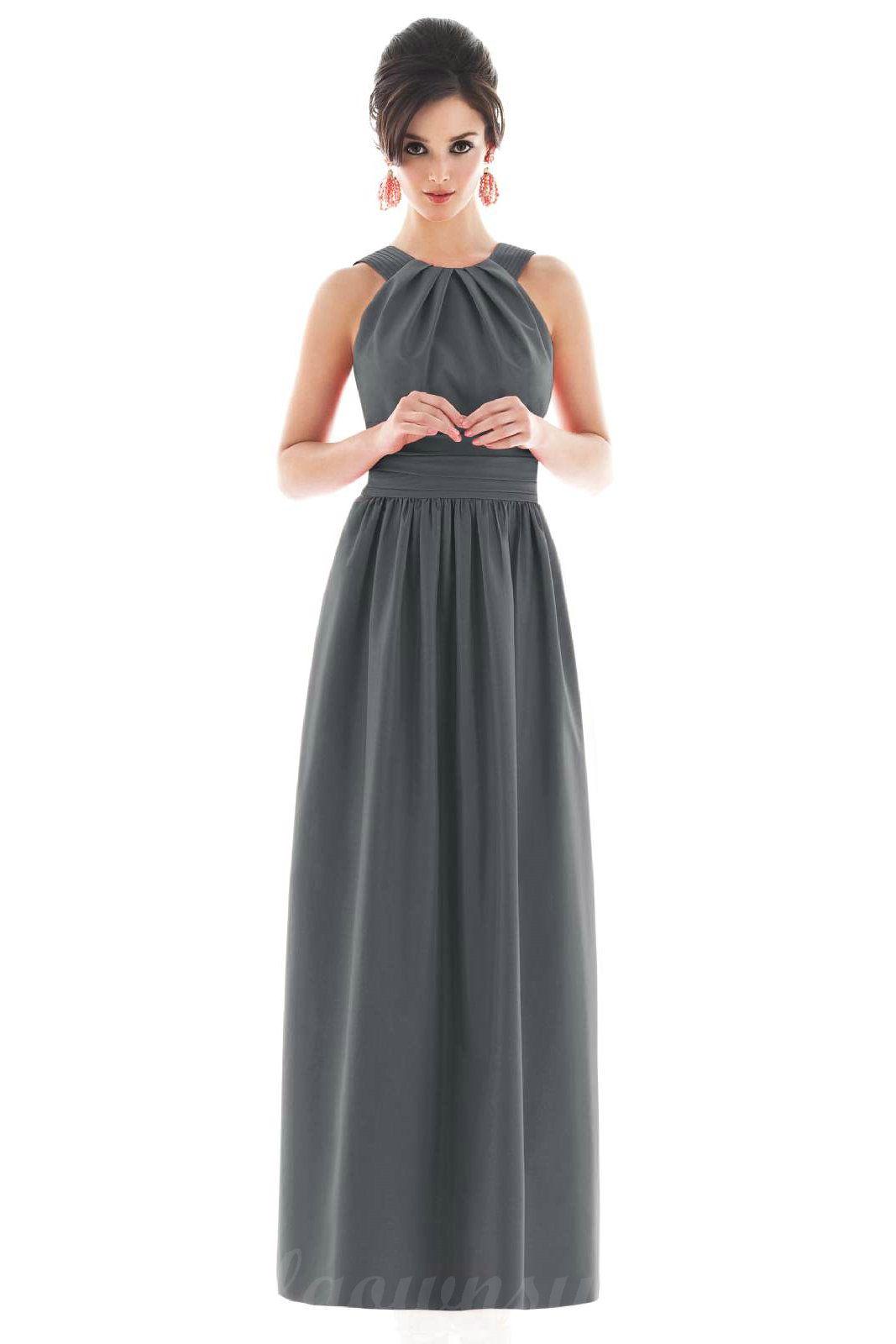 628b1d998 Vestidos color gris para las damas de tu boda