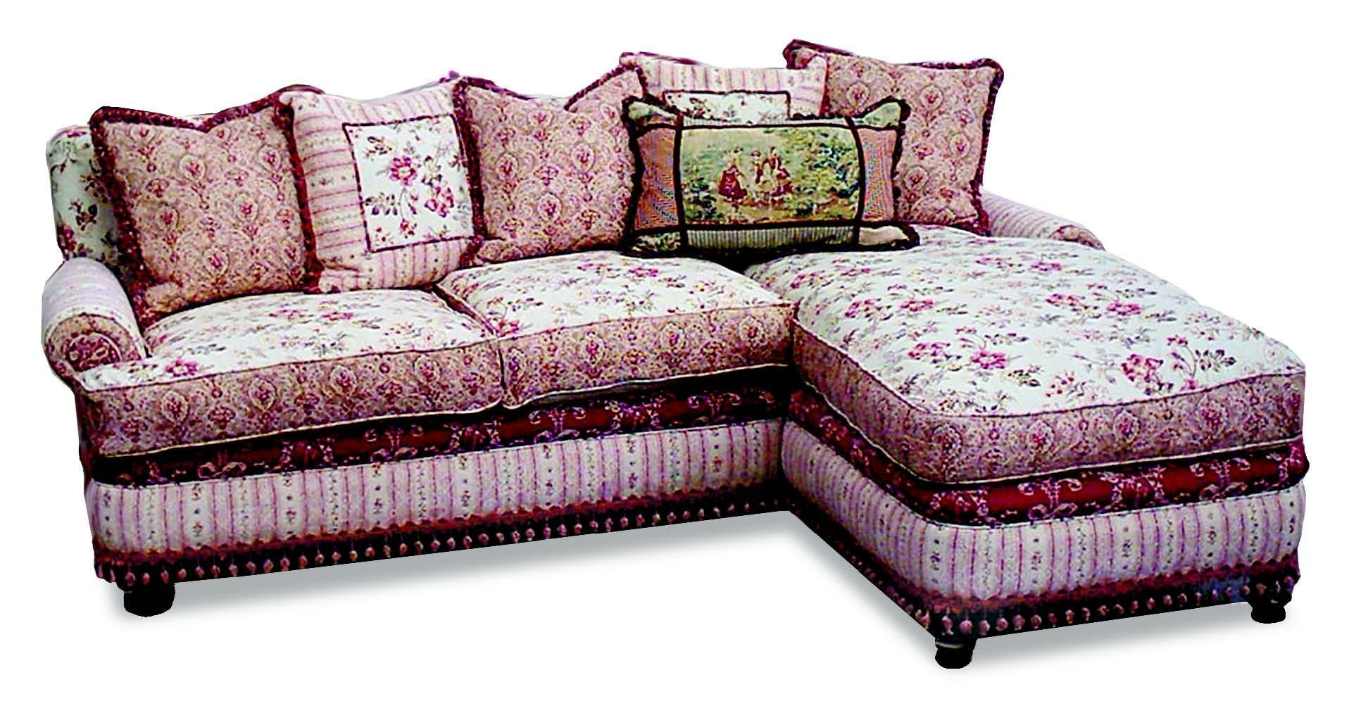 Amusing Shabby Chic Sectional Sofa 16 For Your Deep Leather
