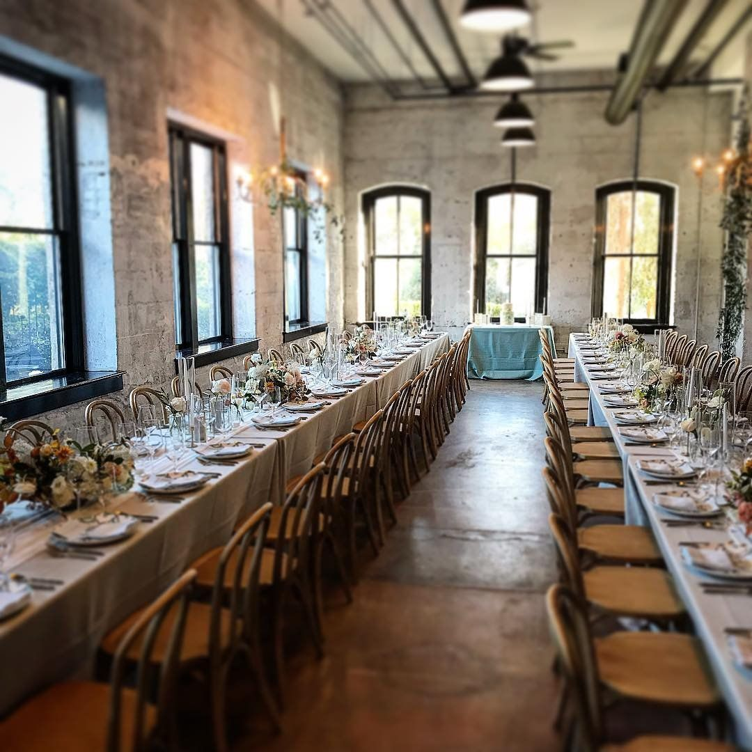 A wedding reception setup right out of a fairytale, at The