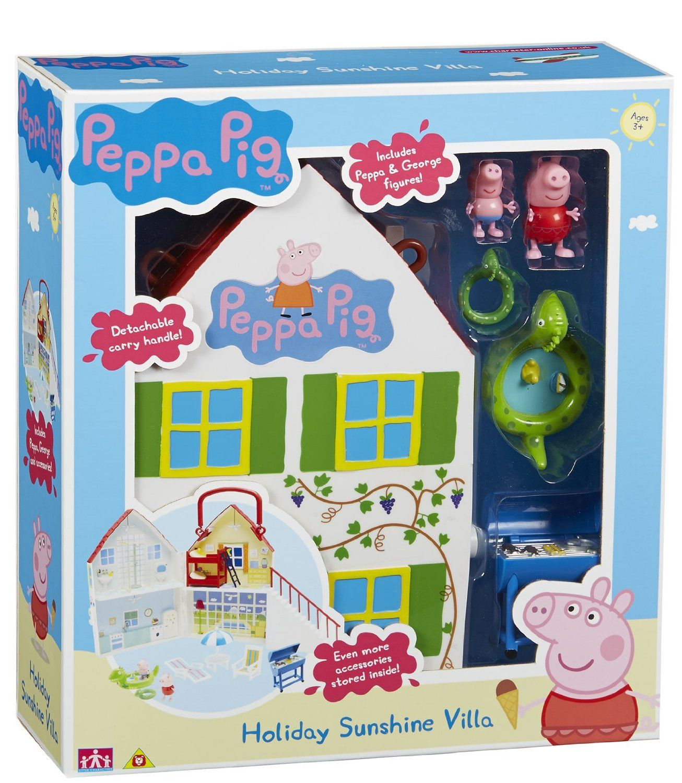 Peppa Pig Holiday Time Sunshine Villa Amazon Toys & Games