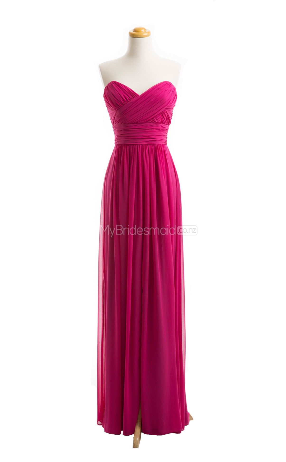 Vogue Fuchsia Bridesmaid Dresses