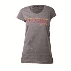 USC Women's Grey Alumni Casual V Neck T-Shirt 17I