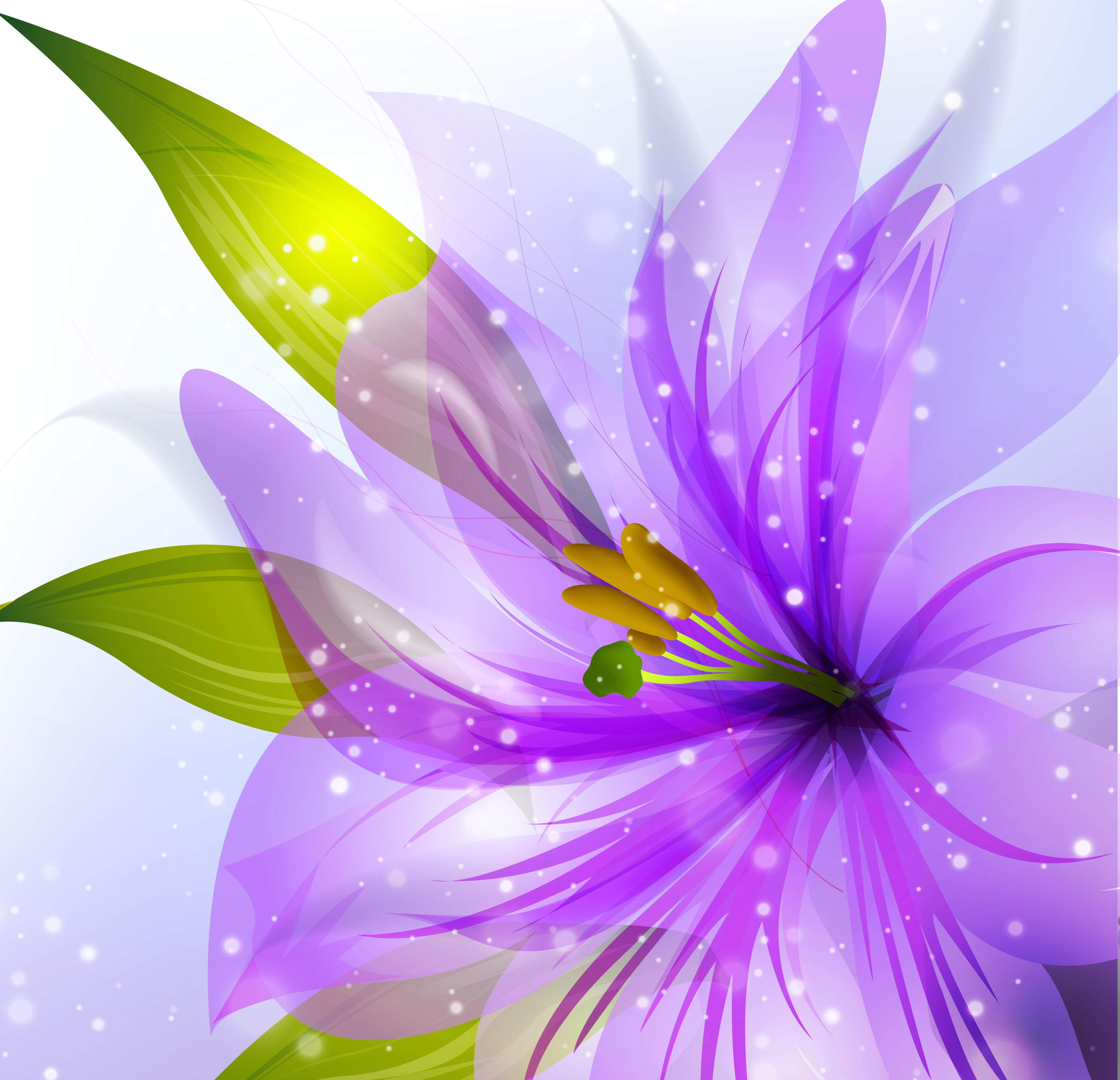 Purple Flower Background Purple flower background