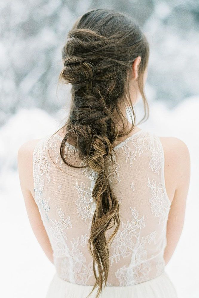 30 Cute And Easy Wedding Hairstyles | Simple wedding hairstyles, Elegant wedding hair, Wedding ...