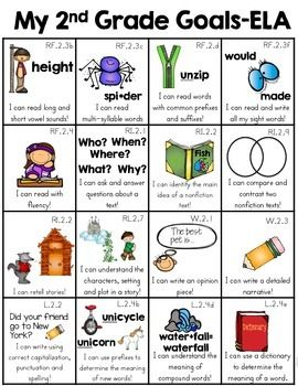 Second Grade Skill Sheet (2nd Grade Common Core Standards