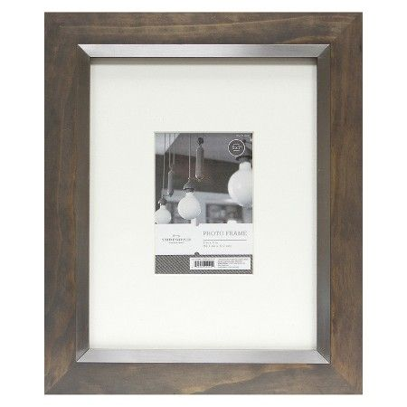 Grey Frame With Silver Inner Threshold Target Plastic Surgery