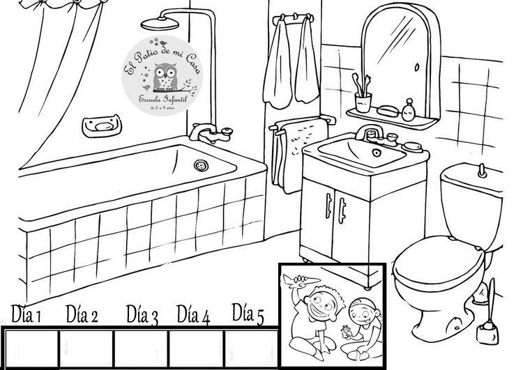 fichas la casa infantil - Buscar con Google | FICHAS Y CONCEPTOS ...