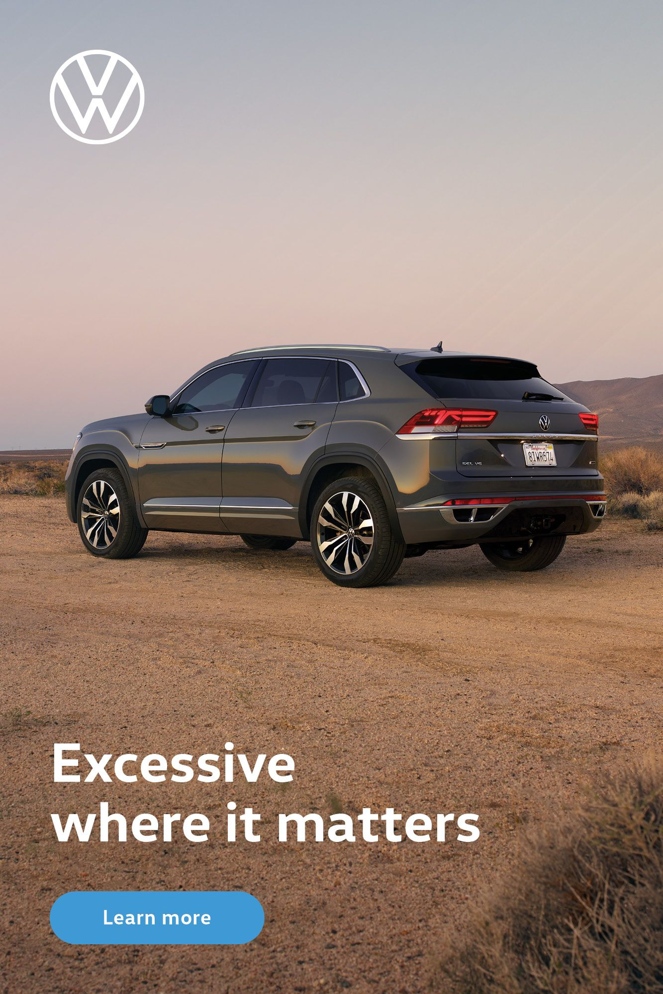 Introducing the Volkswagen Atlas Cross Sport. in 2020