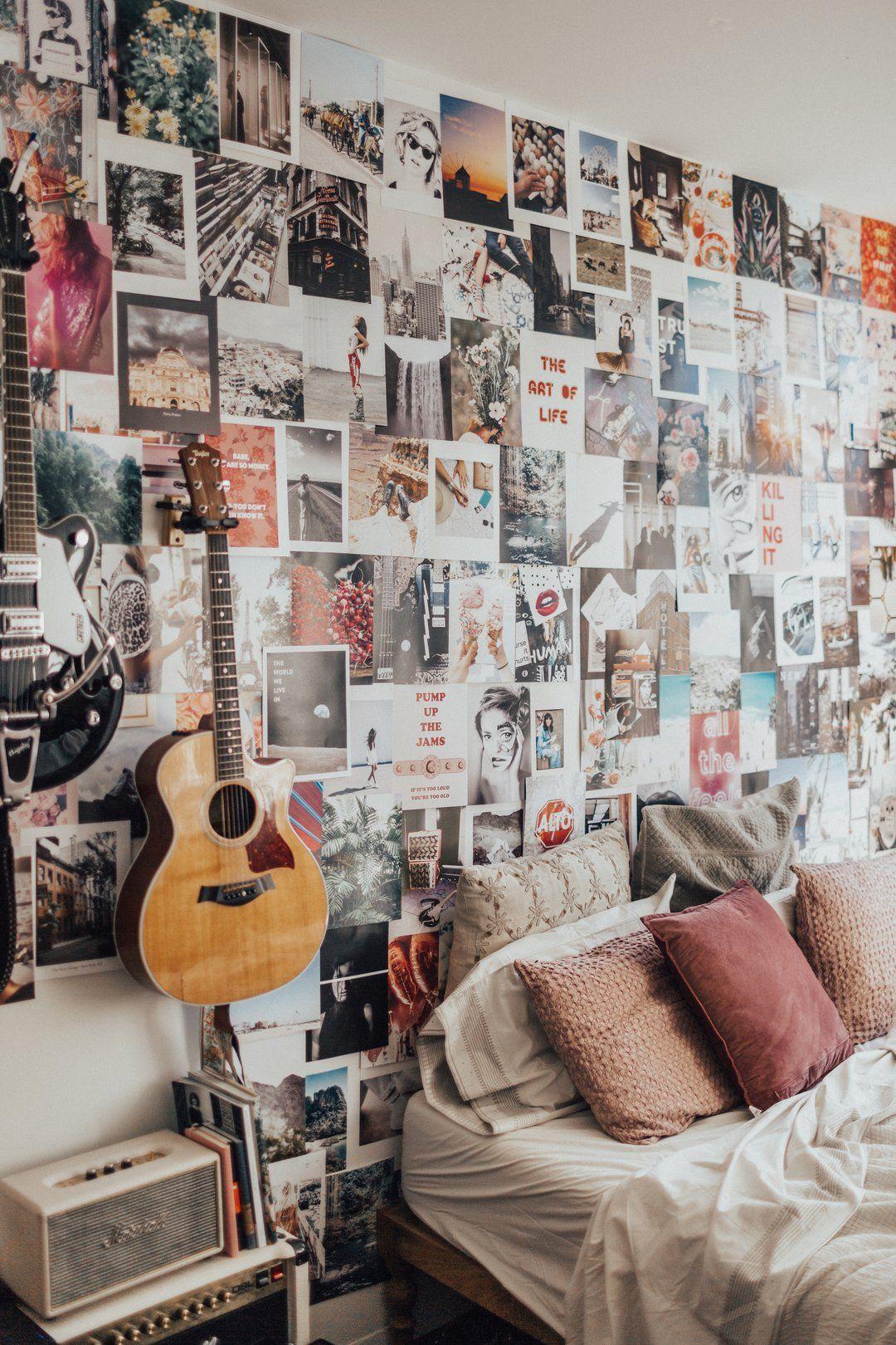 Tezza Collage Kit Room Inspiration Decor Dorm Organization