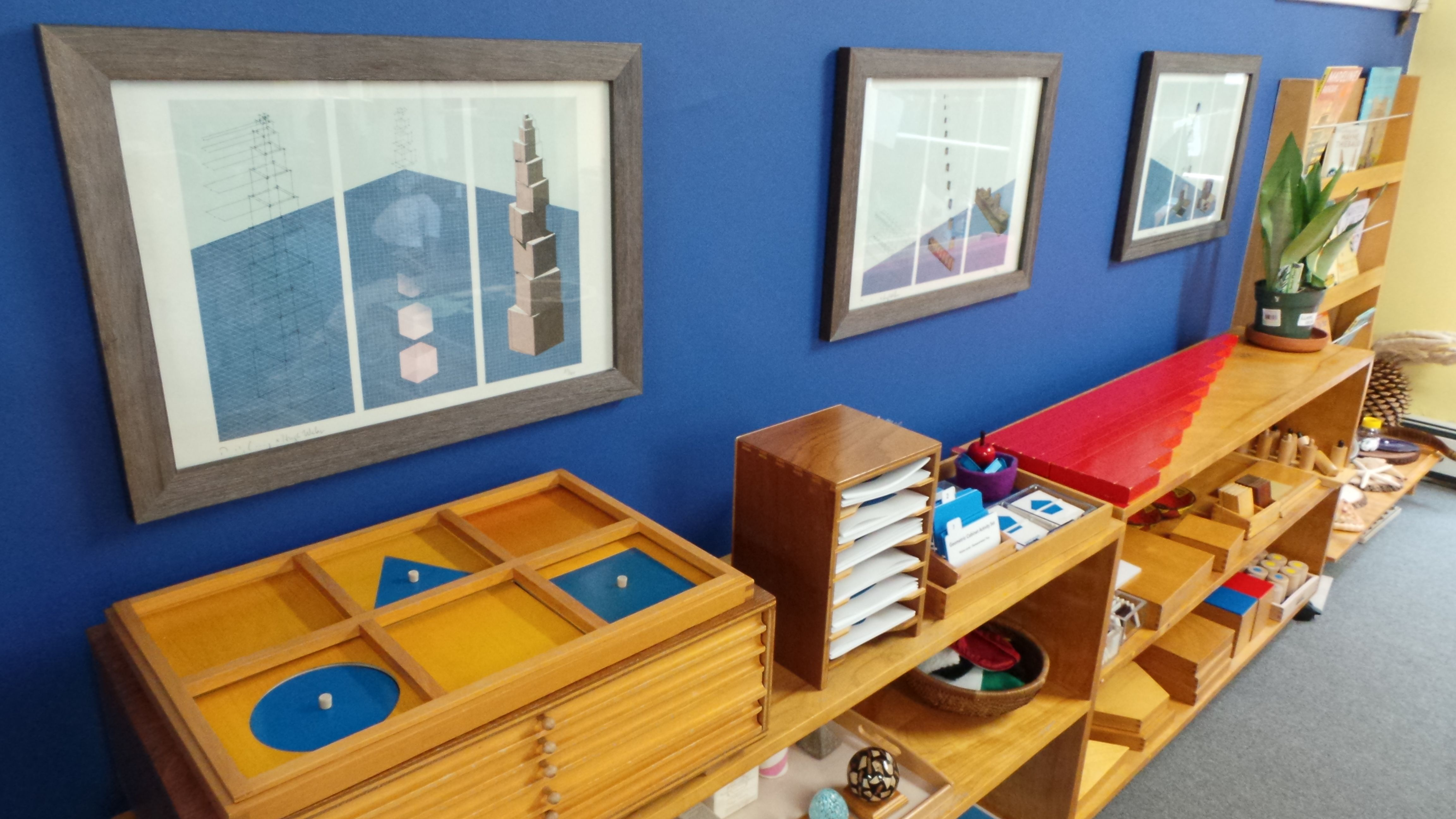 Montessorium Blueprints Framed Proudly In Our Classrooms