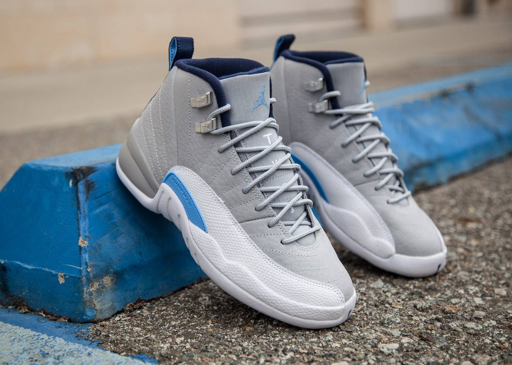 Air Jordan 12 Retro  UNC  Wolf Grey University  3a3d98a23