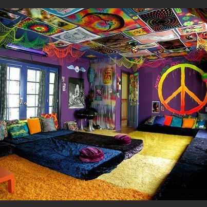 Modern Wall Decor Ideas Personalizing Home Interiors With Unique Wall Design Hippie Room Decor Cool Rooms Chill Room