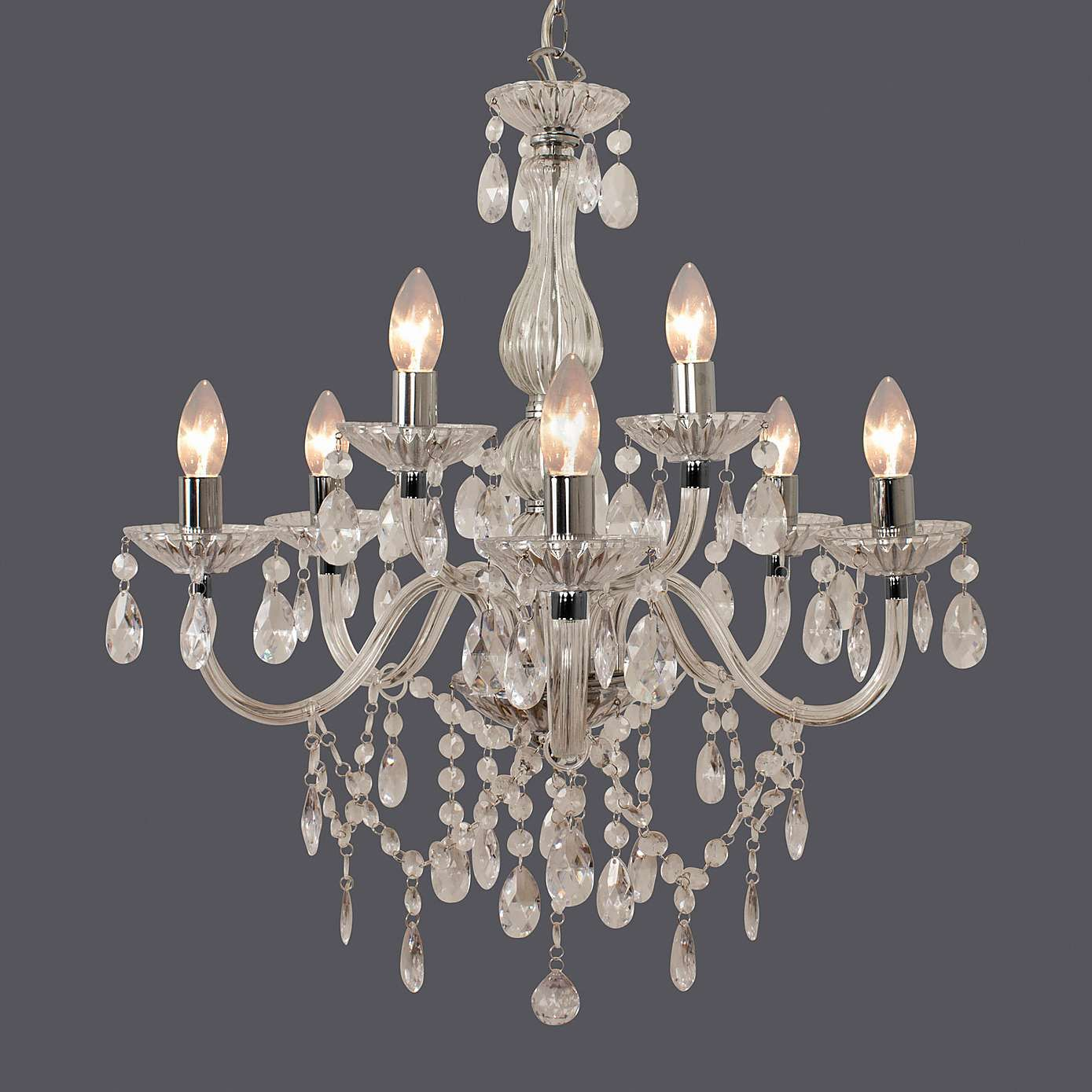 crystal chandelier dunelm # 15