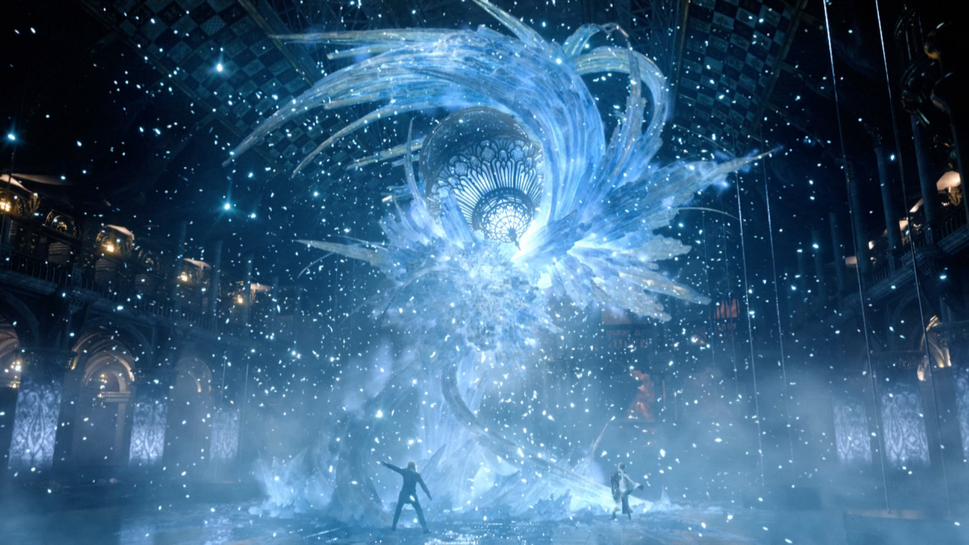 Snow 39 S Crystal Pillar Final Fantasy Pinterest Final