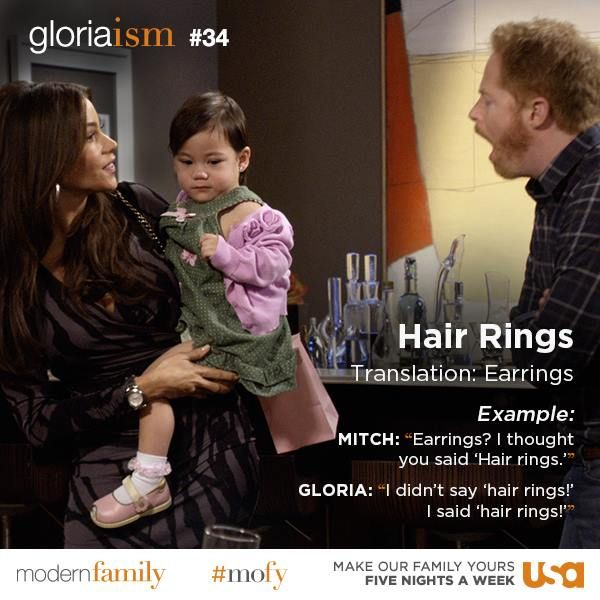 "You heard ""hair rings"" too, right?"